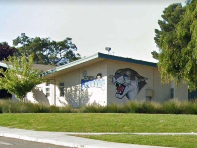 PHOTO: Cabrillo Middle School in Santa Clara, California.