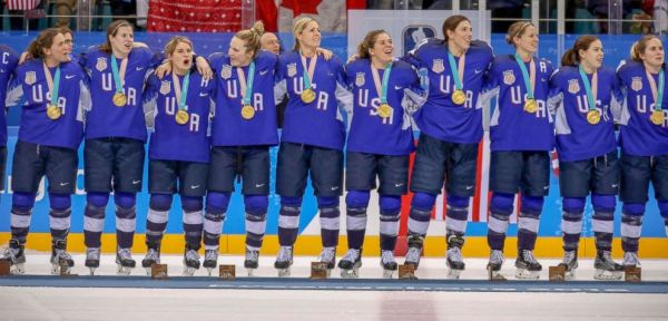 US women's hockey team finally gets gold in dramatic final ...