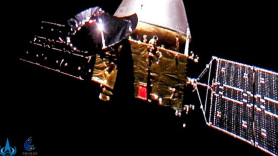 A Chinese spacecraft Mars enters orbit parking before the rover lands