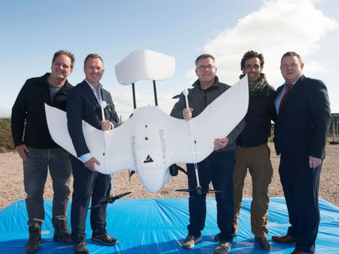 NUI Galway drone delivers diabetic medicine