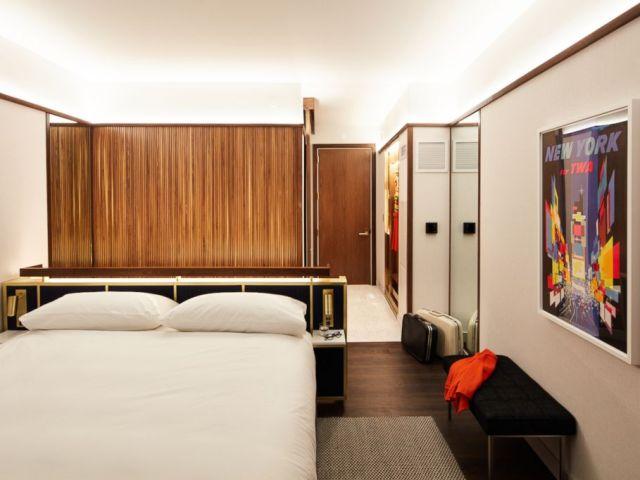 PHOTO: TWAs hotel model room is seen here.