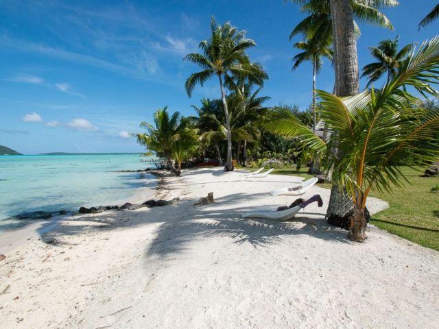 PHOTO: The beach at Pension Alice et Raphael.
