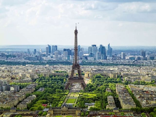 PHOTO: A view of La Defense business district in Paris is captured in this undated stock photo.