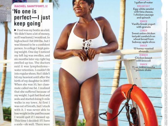 PHOTO: Rachel Saintfort, 32, shares how she lost 121 pounds without any surgery in an interview with People magazine.