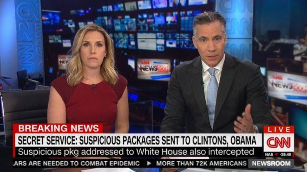Flipboard: CNN anchors evacuate studio after suspicious ...