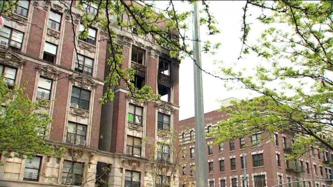 6 Dead Including 4 Children In New York City Blaze