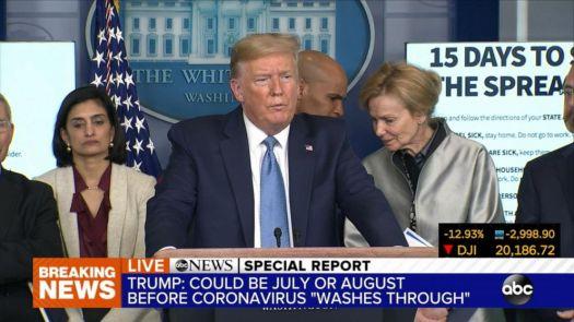 White House issues latest guidelines on coronavirus Video ...