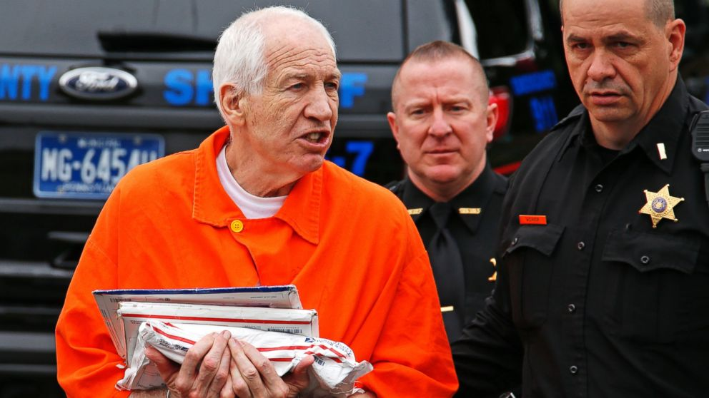 Former Penn State Coach Jerry Sandusky Appears In Court As