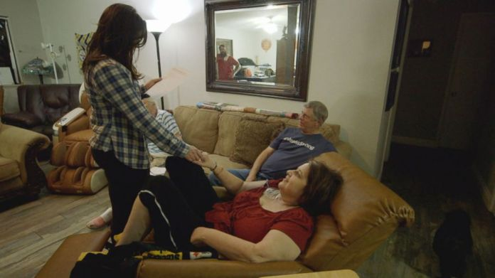 After 12 surgeries, Rosemarie Melanson was sent home to recover six days before the one year anniversary of the Las Vegas attack.