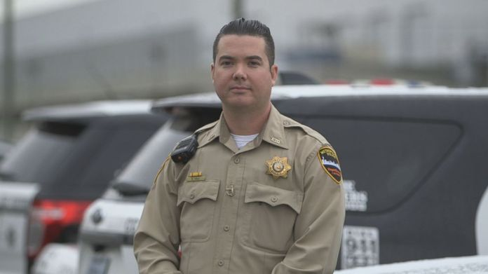 Officer Richard Cole was one of the responding officers on the scene of the Oct. 1, 2017, Las Vegas shooting.