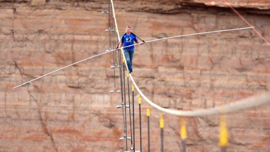 Resultado de imagen de Nik Wallenda grand canyon
