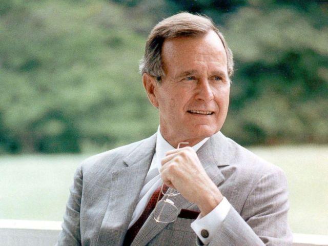 PHOTO: George H.W. Bush in 1985.