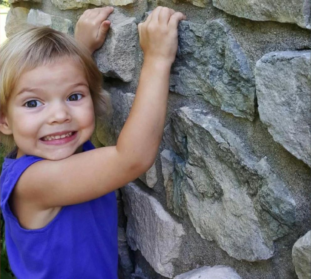 PHOTO: Alivia Viellieux, of Muncie, Indiana, died at home Monday morning, just days after being diagnosed with the flu. The 3-year-old girls grandmother, Tameka Stettler, said the family is second-guessing its decision not to vaccinate her.