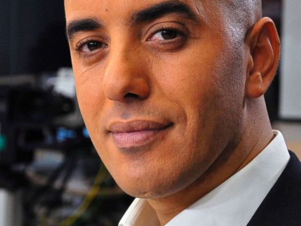 PHOTO: In this photo of November 22, 2010, the famous French criminal Redoine Faid poses before an interview with the French news channel, LCI, while promoting his book, in Boulogne-Billancourt, on the outskirts of Paris , France.