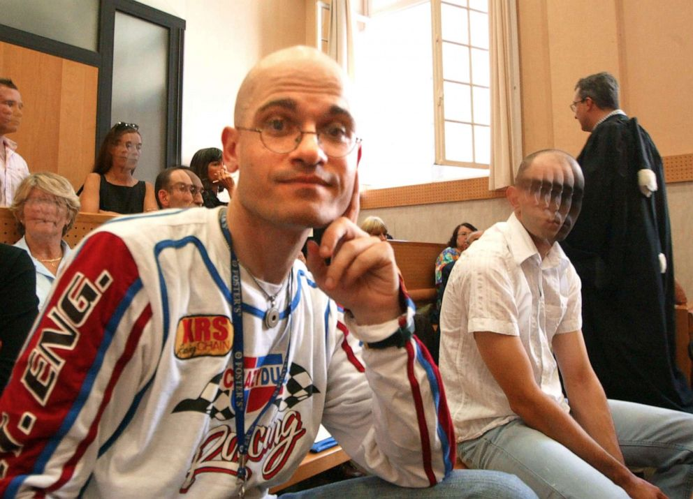 Frederic Bourdin, 31, is pictured in a courtroom in France, Sept. 15, 2005.