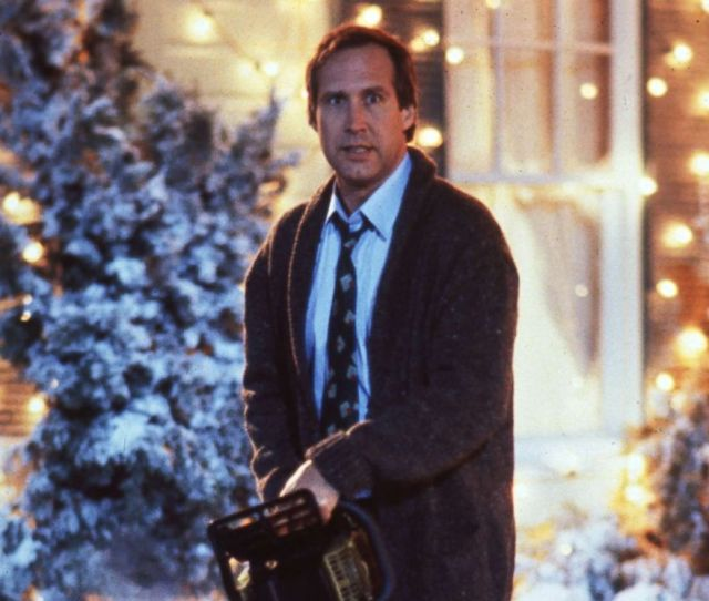 Photo Chevy Chase As Clark Griswold In National Lampoons Christmas Vacation 1989