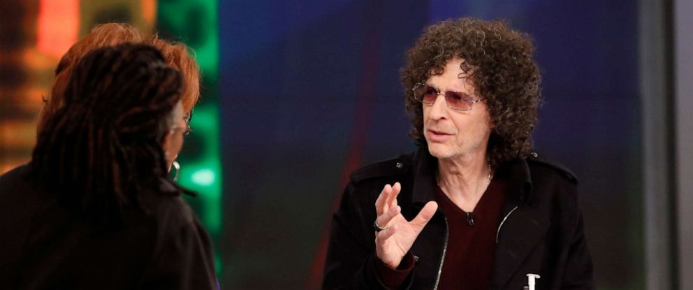 Photo Howard Stern Appeared On Abcs The View May
