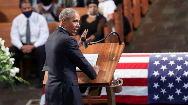 READ: President Barack Obama's eulogy for Rep. John Lewis - ABC News