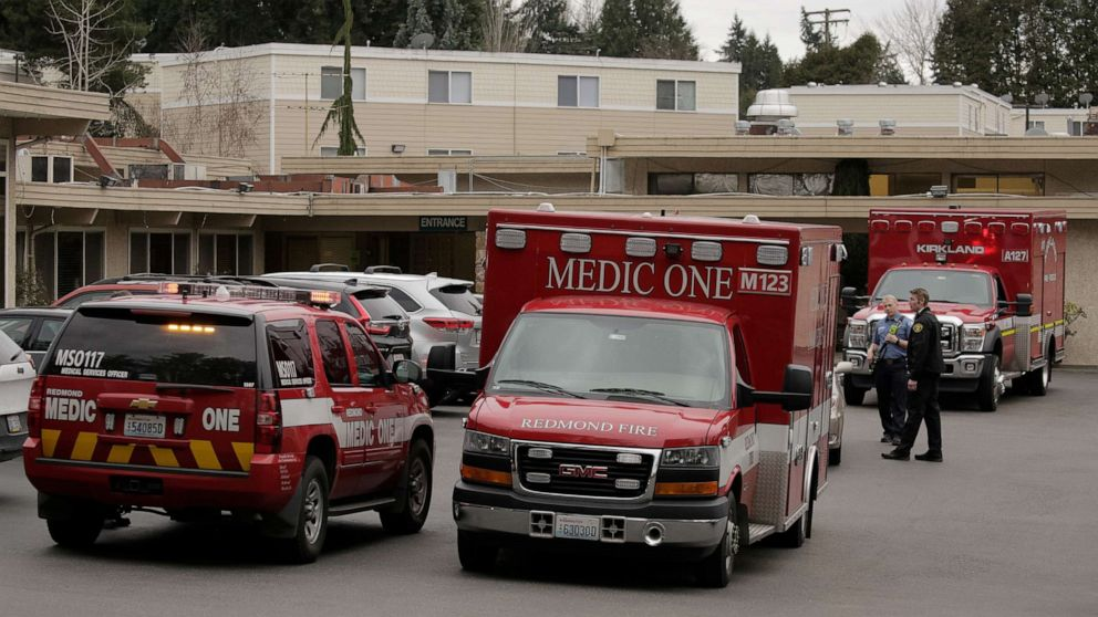 Washington county declares state of emergency as ... on Life Care Center Of Kirkland id=69403