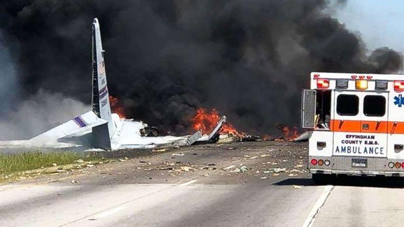 At least 5 dead after military plane crash in Savannah, Georgia