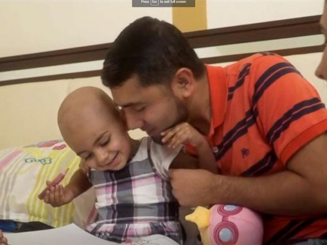PHOTO: Florida resident Zainab Mughal, 2, is in need of a rare blood type to support her treatment for neuroblastoma.
