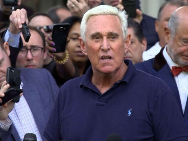 Trump angrily tweets 'Witch Hunt' after Roger Stone ...