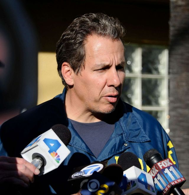 PHOTO: In this Feb. 28, 2013, file photo, FBI agent Scott Garriola talks to the media about an investigation in Los Angeles.