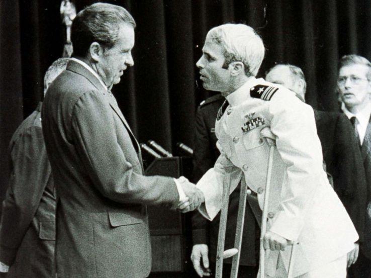 Image result for John McCain in Viet Nam