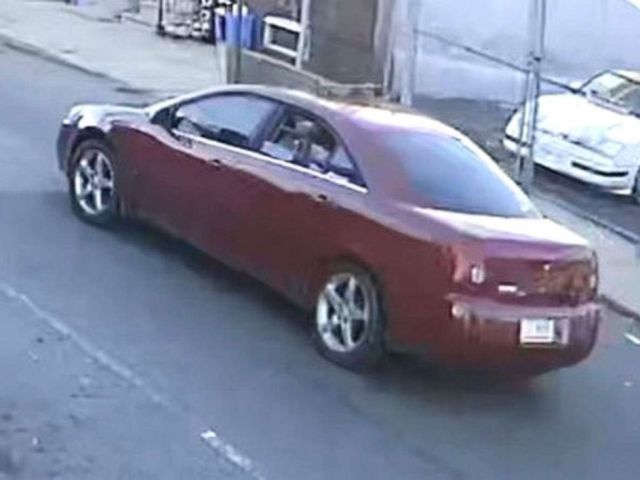 PHOTO: Police released images of the car involved in the shooting of a 10-year-old boy, Nov. 6, 2019, in Philadelphia.