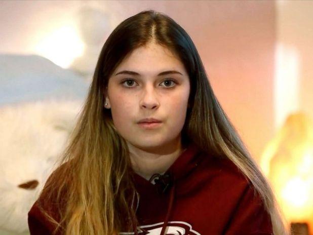 PHOTO:Brooke Harrison speaks to Nightline about the mass shooting at Marjory Stoneman Douglas High School in Fla.