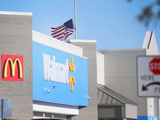 PHOTO: A Walmart hypermarket stands in El Paso, Texas, Nov. 13, 2019.
