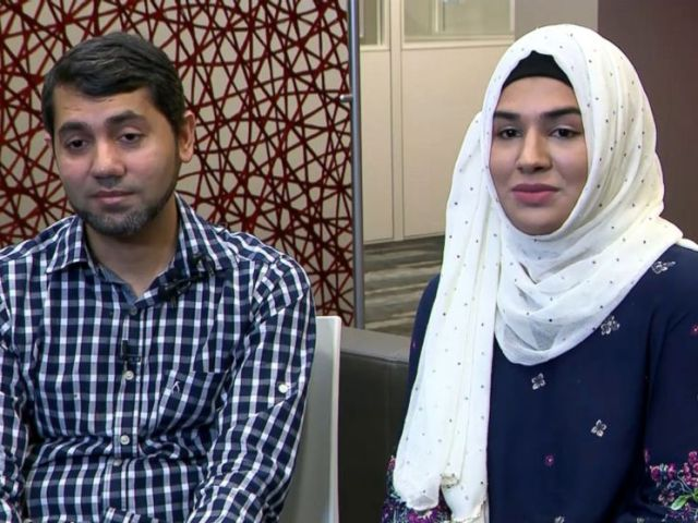 PHOTO: Zainab Mughals parents, Raheel Mughal and Mariam Mehmood, pleaded with the public to donate blood and give their young daughter a chance at surviving.