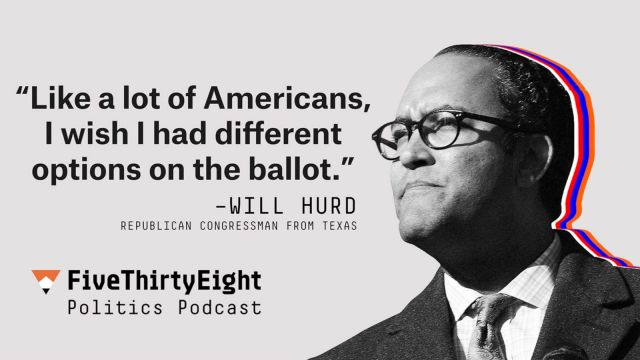 Rep. Will Hurd on whether he'll vote for Trump l FiveThirtyEight