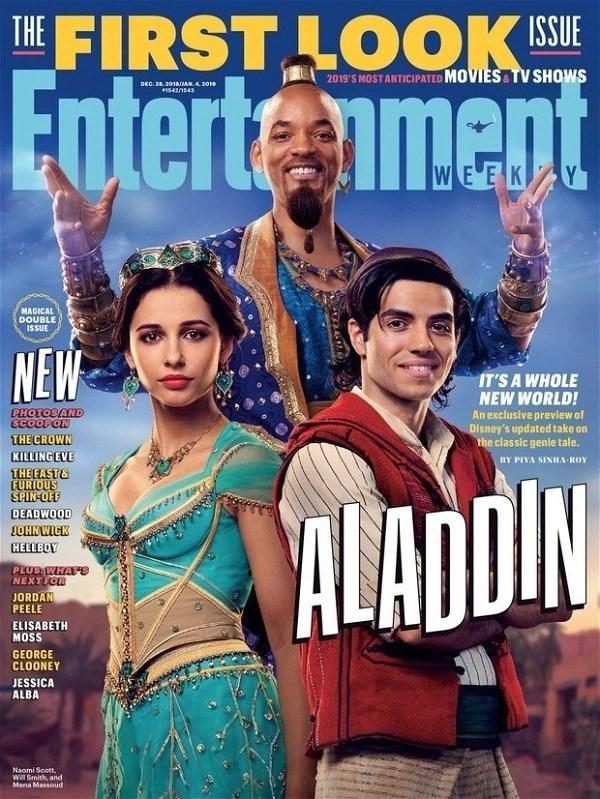 Aladdin: primeira imagem de Will Smith como Gênio ...
