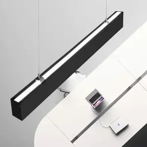 led up down ceiling suspended lights linear led direct indirect light fixture