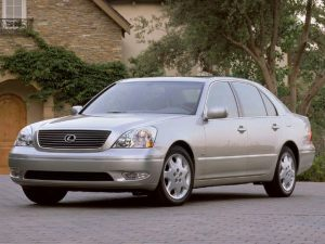 2002 Lexus LS 430 Information