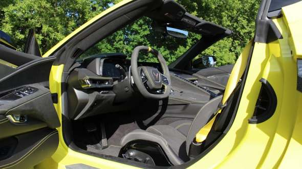2020 Chevy Corvette 3LT interior