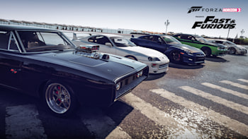 We Drive The Cars Of Furious 7 In Forza Horizon 2 W