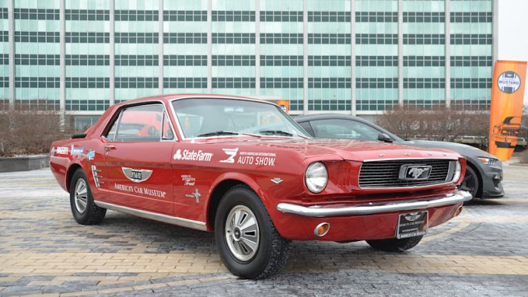 Ford Mustang turns 54  celebrates with cars  coffee and a bit of     slide 7307972