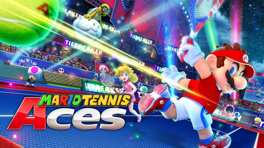 Image result for mario tennis aces switch