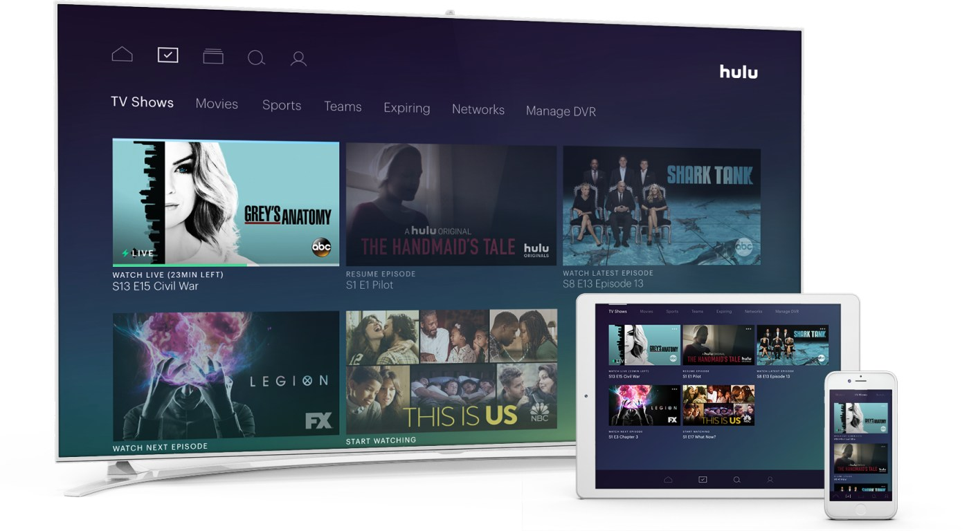 Hulu Live TV Beta Launches 40 For 50 Channels And DVR