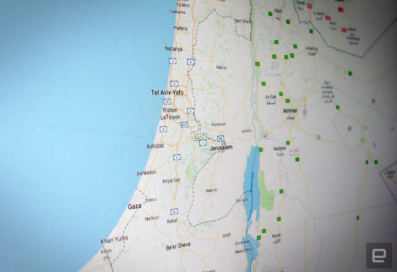 N J Screenshot via Google Maps