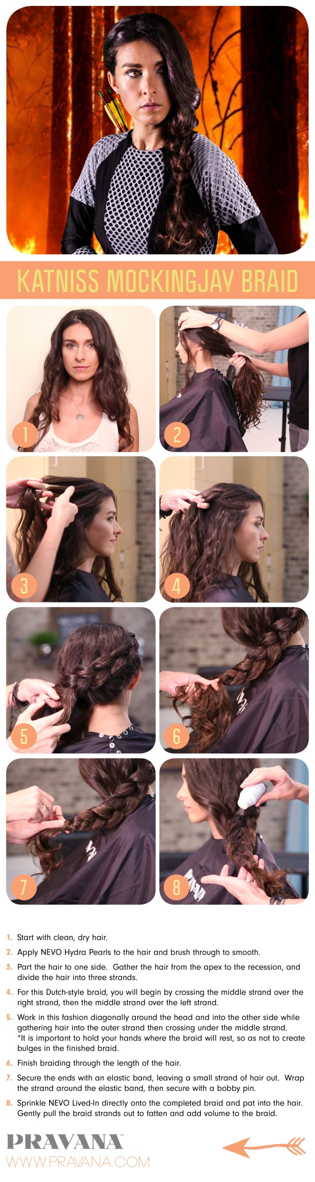 halloween how-to: katniss everdeen's mockingjay braid - aol