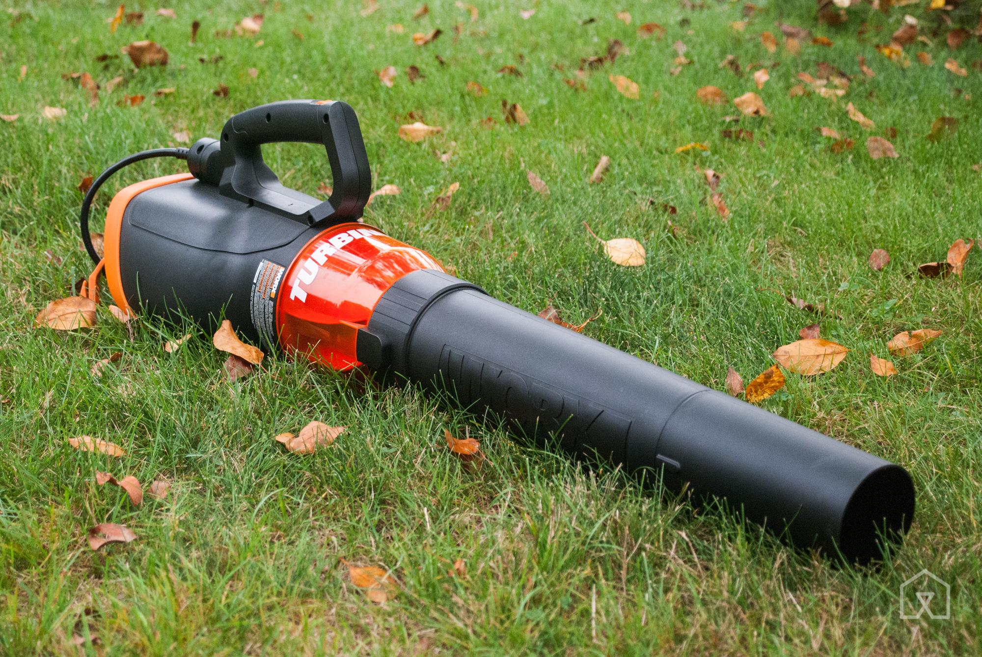 Leaf Blower Mulcher