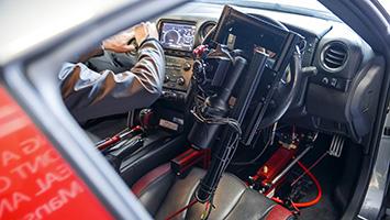 Nissan GT-R playstation controller
