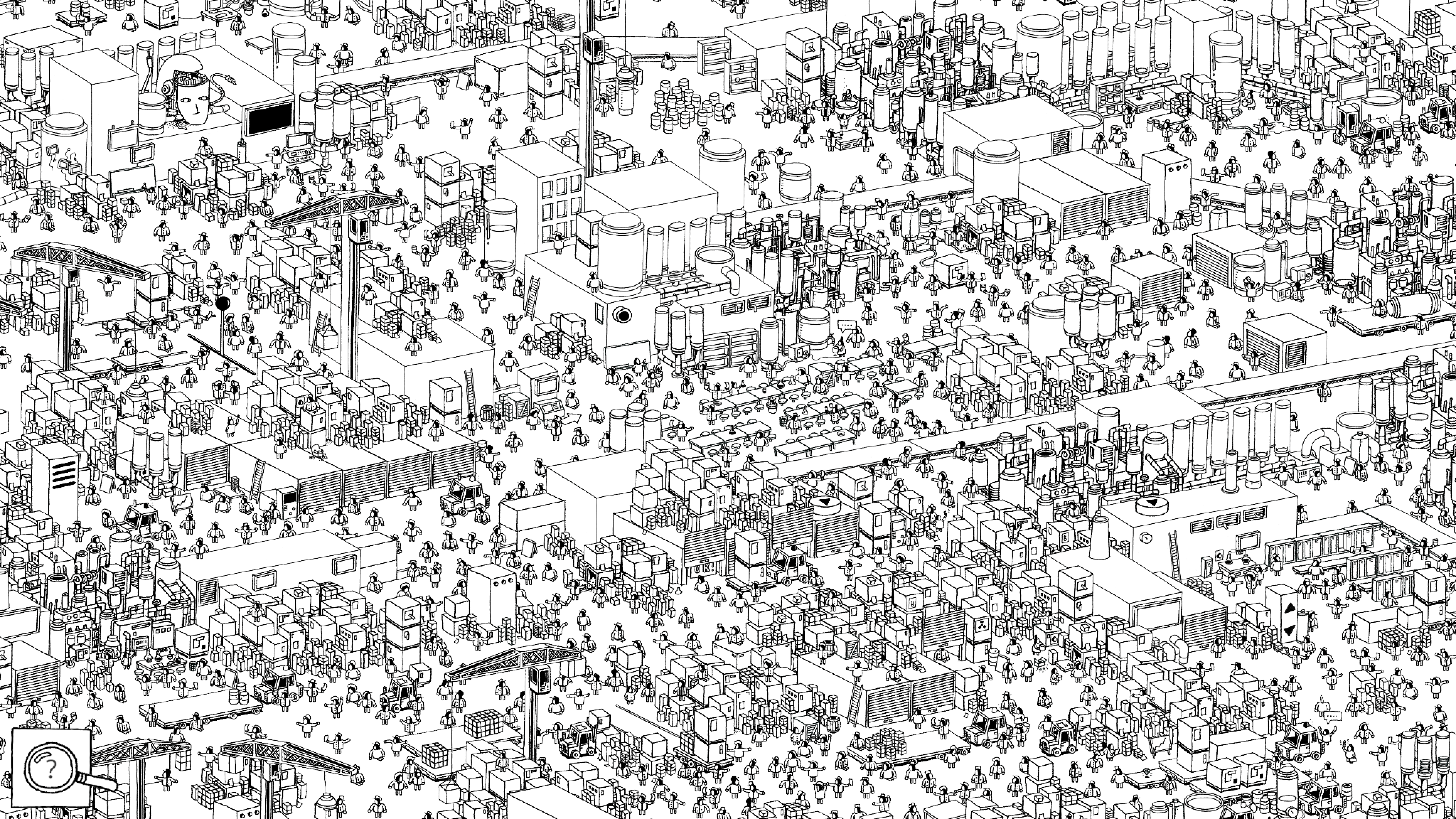 If You Love Adult Coloring Books You Ll Enjoy Hidden Folks