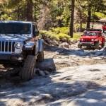2020 Jeep Gladiator Rubicon Off Road Drive On The Rubicon Trail Autoblog