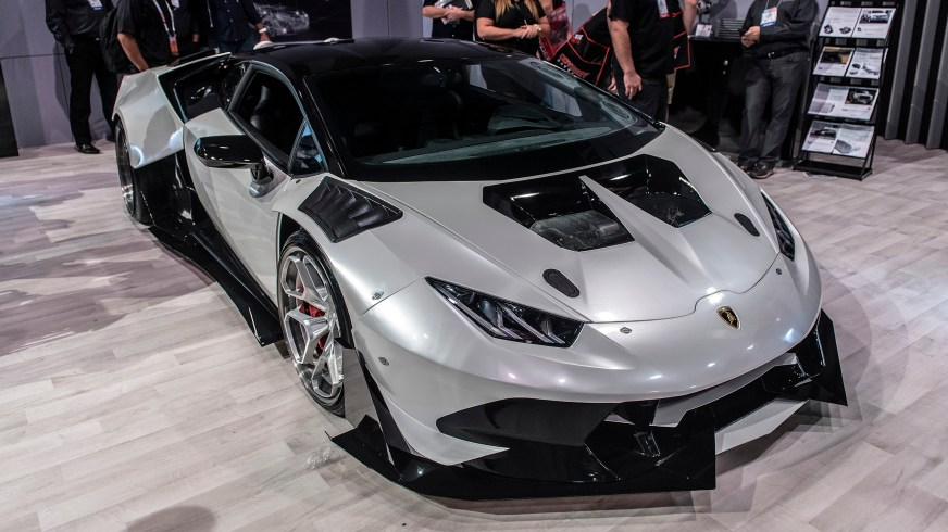 2015 Lamborghini Huracan with a twin-turbo Chevy V8 is ...