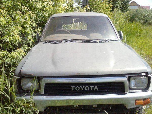 Тойота Хайлюкс Сурф 1991 в Кургане, полный привод ...