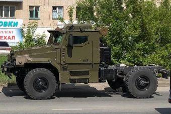 Появилось фото «маленького» бронированного грузовика «Урал»